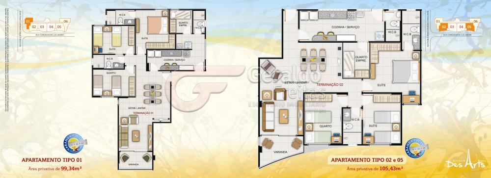 Alugar Apartamentos / 03 quartos em Maceió. apenas R$ 509.000,00