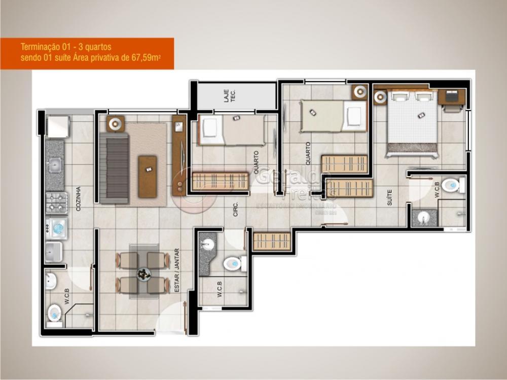 Comprar Apartamentos / 03 quartos em Maceió apenas R$ 331.950,00 - Foto 5