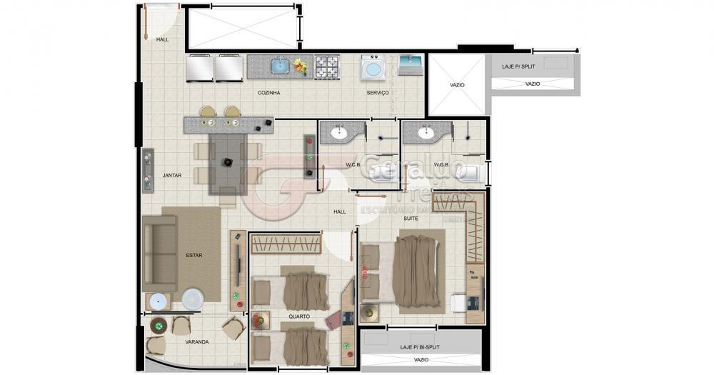 Comprar Apartamentos / 02 quartos em Maceió apenas R$ 305.498,96 - Foto 3