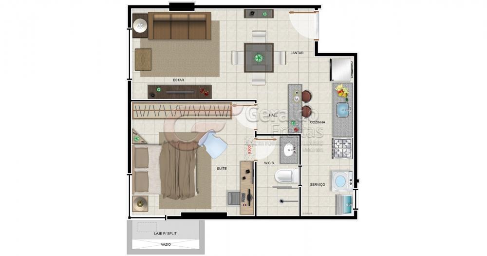 Comprar Apartamentos / 02 quartos em Maceió apenas R$ 305.498,96 - Foto 6