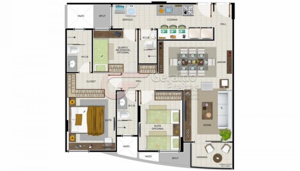 Comprar Apartamentos / 03 quartos em Maceió apenas R$ 447.000,00 - Foto 4