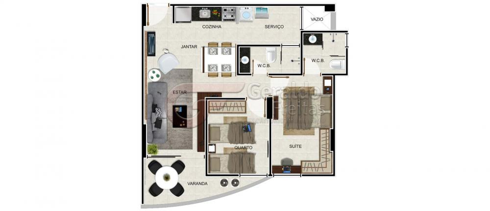 Comprar Apartamentos / 02 quartos em Maceió apenas R$ 370.000,00 - Foto 13