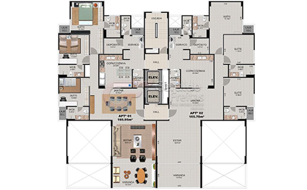 Comprar Apartamentos / Padrão em Maceió apenas R$ 1.000.000,00 - Foto 32