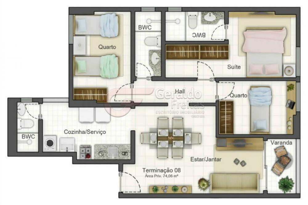Comprar Apartamentos / Padrão em Maceió apenas R$ 275.000,00 - Foto 17