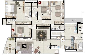Comprar Apartamentos / 04 quartos em Maceió apenas R$ 1.100.000,00 - Foto 3
