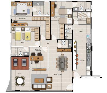 Alugar Apartamentos / 03 quartos em Maceió. apenas R$ 640.940,00
