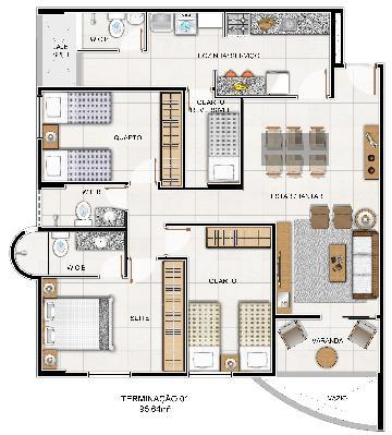 Apartamentos / Padrão em Maceió , Comprar por R$407.781,45